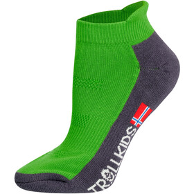 TROLLKIDS Hiking II Low Cut Socks Kids viper green